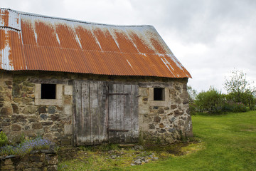 Rustic Old Barn in Brittany France