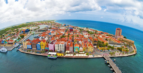 Willemstad Curacao Wall mural