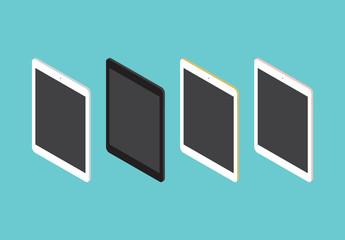 Tablet-Illustrationen