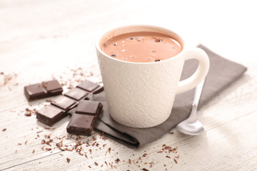 Photo sur Toile Chocolat chocolate milk