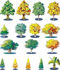 樹木の素材