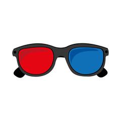 3d glasses icon image vector illustration design