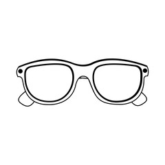 glasses isolated icon image vector illustration design