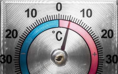 Window Thermometer closeup
