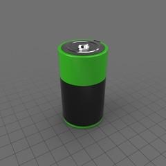 Battery D