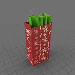 Christmas Shopping Bag 02
