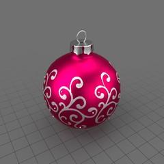 Christmas Tree Ornament Ball 01