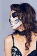 halloween, girl