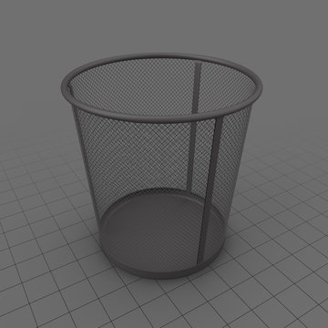 Office Trash Can 1