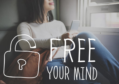 Free Your Mind Awareness Attitude Concept