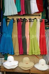colorful dresses n hats