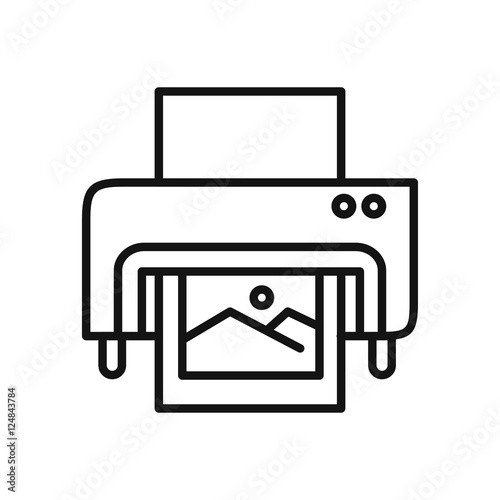 """digital printing icon illustration design"" Stock image ..."