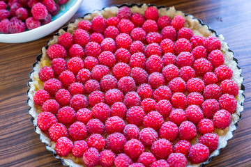Healthy Paleo Raspberry Tart