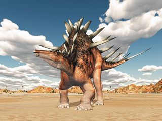 Dinosaurier Kentrosaurus