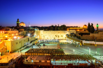 The Western Wall and Temple Mount, Jerusalem, Israel