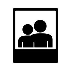 photograph pictogram icon image vector illustration design