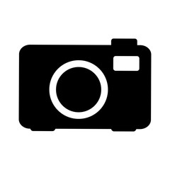 camera pictogram icon image vector illustration design