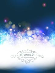 Beautiful christmas background.