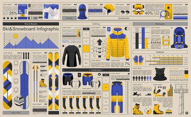 winter sport infographic
