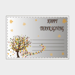 logo for the Celebration of Thanksgiving Day.
