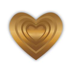 cuore dorato