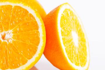 Fresh oranges fruit