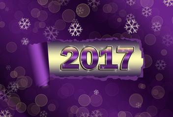 Christmas astro 2017 violet natal chart with horoscope symbols