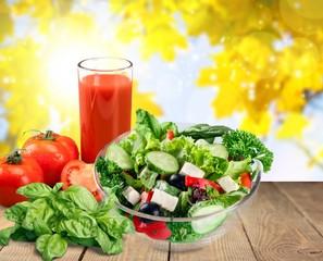 Fototapete - Salad.