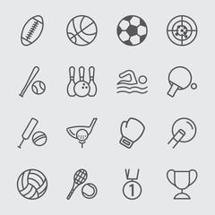 Sport line icon