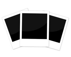 Vector set of photo frames