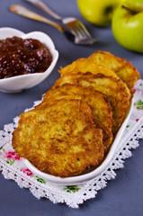 Traditional potato pancakes