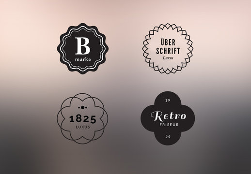 Elegantes Logo-Kit