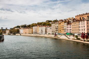 Promenade du défilé de la Saône à Lyon