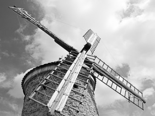 Acrylic Prints Mills Wind mill stone