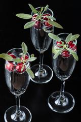Cranberry Sage Beverages