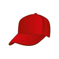 baseball cap icon image vector illustration design