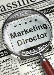We are Hiring Marketing Director. 3D.