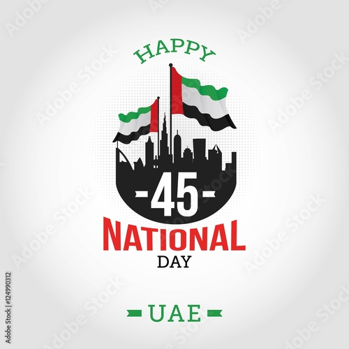 Vector illustration united arab emirates national day december the vector illustration united arab emirates national day december the 2nd spirit of the union m4hsunfo