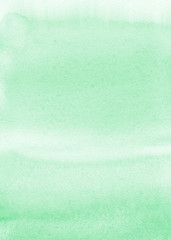 Mint watercolor background