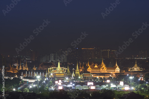 """Wat Phra Kaew and Grand Palace, Bangkok, Thailand at ..."