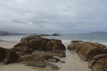 Samil beach,Vigo,Spain