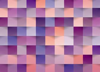 カラフルクラフト背景(紫)