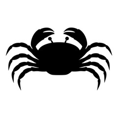single crab icon image vector illustration design