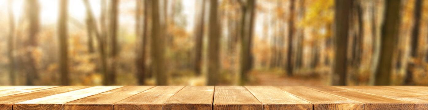 desk of autumn