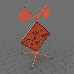 Construction Work Sign 2