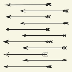 Set arrows vector