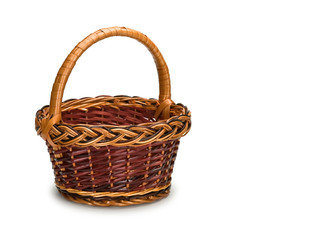Basket from rods