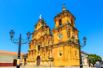 Leon, Nicaragua. Church of la Recolección