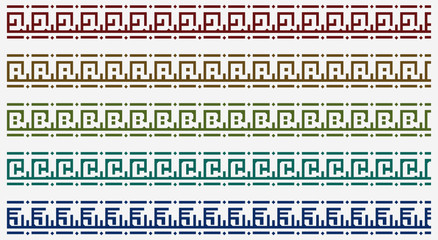 tribal border pattern