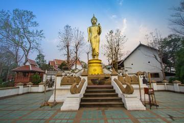 Wat Phra That Kao Noi built during the 23rd-25th Buddhist centuries. Nan, THAILAND.